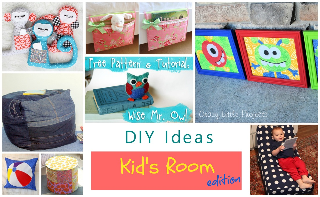 diy ideas for rooms, diy ideas for kids rooms, how to make a puff, how to make a pillow, how to decorate kids rooms, how to decorate sewing kids rooms, sewing wall decoration, how to make a fabric doll, how to make fabric toys for kids, how to make felt toys, quick sewing tutorials, how to make a bed bag, diy wall decoration