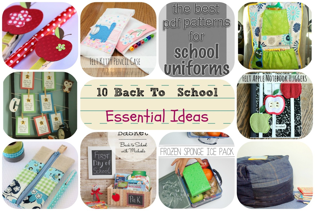 back to school projects, dorm projects, free back to school ideas online