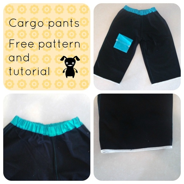 free sewing pattern, free sewing pattern online, free pants pattern, pants tutorial, how to make a pant, cargo pants tutorial, free printable sewing pattern, best free sewing patterns for beginners